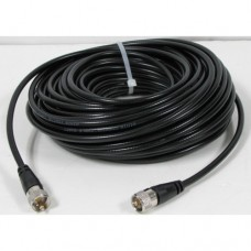 Taurus 18Ft RG8X Mini 8 Coax Cable with PL 259 connectors - High Quality Cable!